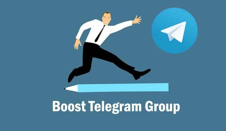 Boost Telegram Group